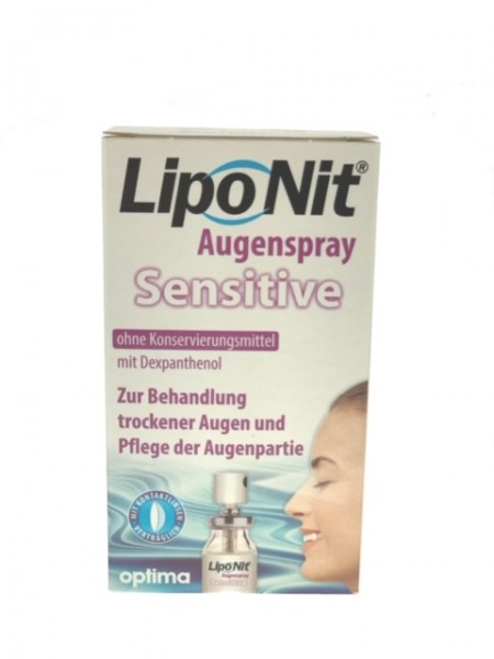 LipoNit Sensitive Augenspray 10ml