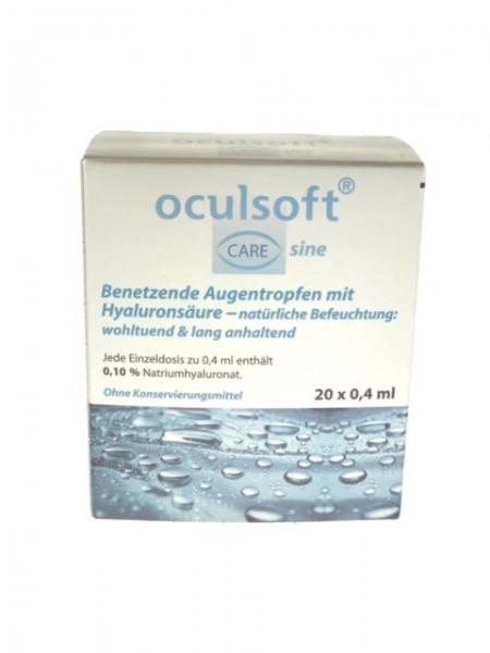 Oculsoft Care sine Benetzungstropfen 20x 0,4ml